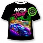 Подростковая футболка NFS heat 1103