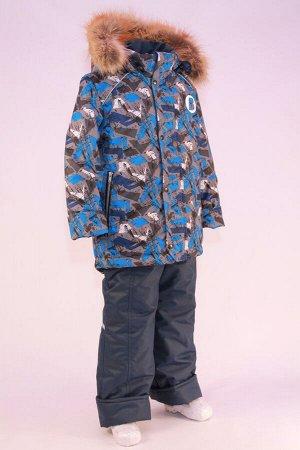 Костюм зимний на мальчика модель Сильвер Мембрана