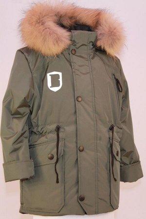 Куртка зимняя подростковая модель Милитари