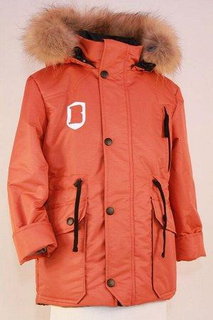 Куртка зимняя подростковая модель Милитари Мембрана