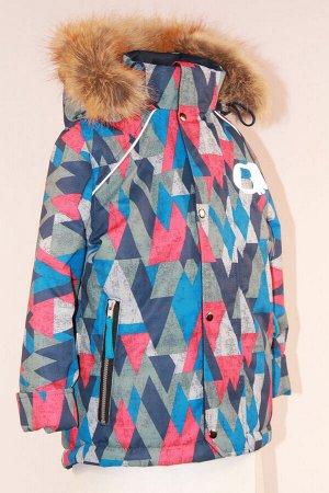 Куртка зимняя подростковая модель Сильвер Мембрана