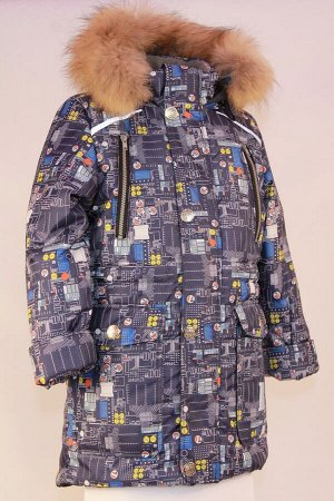 Куртка зимняя подростковая модель Тау