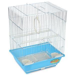 Клетка для птиц №2105 (цвет) 30*23*39 TRIOL