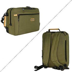 Сумка - рюкзак ASMN. AO 074 green