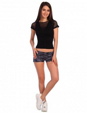 Шорты женские камуфляж фиолетовый от Comfi