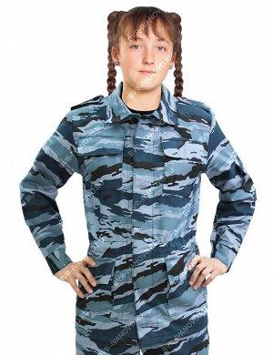 Костюм детский Военно-полевой тк.Смесовая цв.Серый камыш