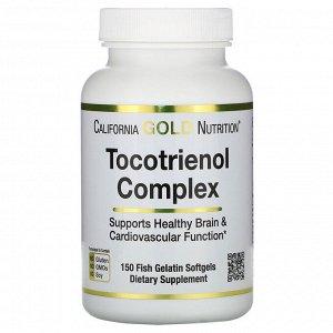 California Gold Nutrition, Комплекс токотриенолов, 150 мягких капсул из рыбьего желатина