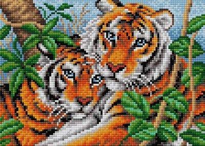 Бисер, наборы для бисероплетения, стразы — Алмазная вышивка (мозаика) Вышиваем бисером — Мозаики и фреска