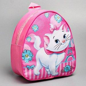 Рюкзак детский кожзам, Коты Аристократы, 21 х 25 см