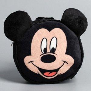 Рюкзак детский плюшевый, Микки Маус 4725071
