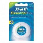 ORAL-B Зубная нить Essential floss невощенная 50м