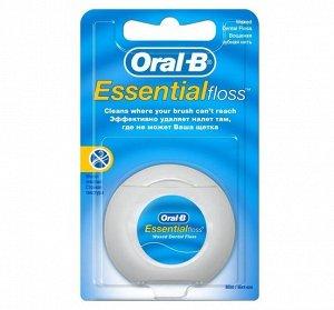 ORAL-B Зубная нить Essential floss мятная 50м