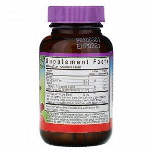 Bluebonnet Nutrition, Rainforest Animalz, витамин D3 с натуральным ягодным вкусом, 400 МЕ, 90 жевательных таблеток