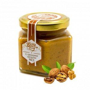 Крем-мед 150 г с грецкими орешками Мёдовик