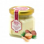 Крем-мед 150 г с кедровыми орешками Мёдовик