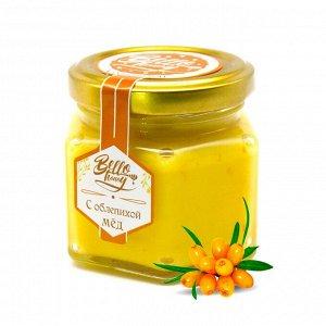 Крем-мед с облепихой 150 г Мёдовик