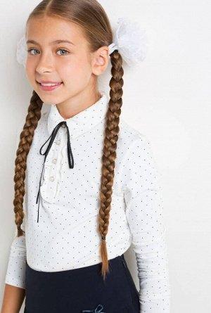Блузка детская для девочек Syleman белый