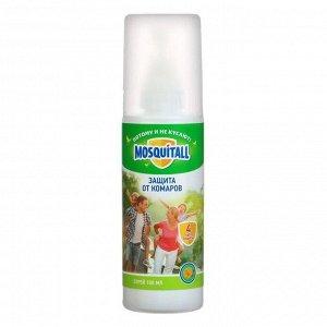 Спрей Mosquitall Защита для взрослых от комаров 100 мл