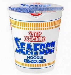 """АКЦИЯ!!!!! Лапша Nissin """"Cup noodle sea food"""" с морепродуктами"""