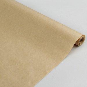 Бумага упаковочная крафт 0,72 x 10 м