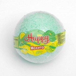 """Бурлящий шар Happy  """"Мохито"""" 130 г"""