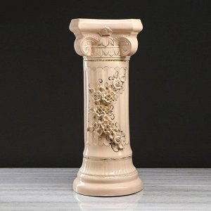 """Колонна """"Греция"""". цветы. лепка. 78 см"""