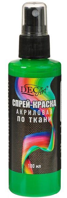 DecArt Спрей-краска по ткани зеленая 100 мл