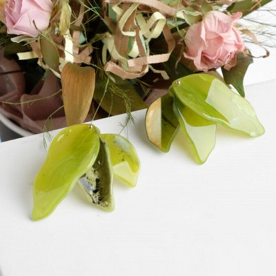Бижутерия ☜♡☞Женская радость☜♡☞ — Пластиковые серьги — Серьги