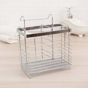 Сушилка для столовых приборов подвесная Доляна, 14,5?11?17 см,
