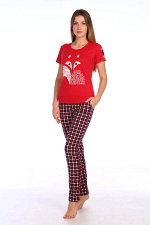 *Костюм женский, модель 154, трикотаж (Red Fox)