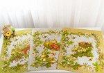 Комплект полотенец 48*60 см, 3 шт., рогожка (Береста)