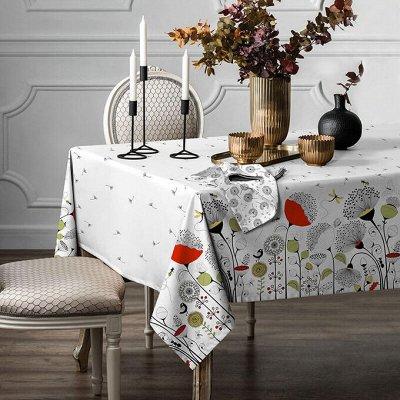ИВАНОВСКИЙ текстиль - любимая! Новогодняя коллекция! — Текстиль для кухни - Скатерти — Клеенки и скатерти