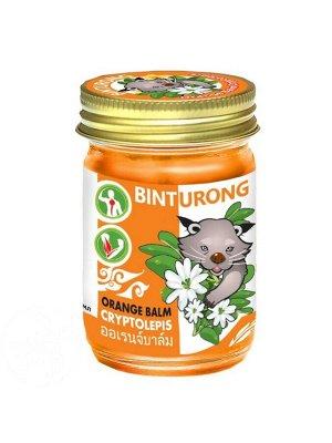 Binturong Orange Balm Cryptolepis- Бальзам для снятия напряжения в мышцах и суставах, 50гр