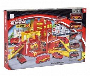 Игровой набор Пожарная часть 2