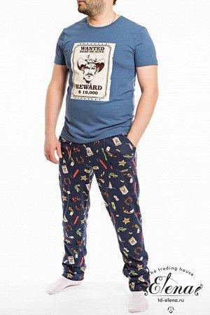 Пижама (футболка+брюки)
