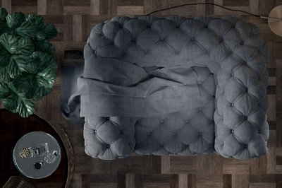 [Egida] Ткани мебельные (Купоны) / Экокожа <Обивка> 🎀  — Ткань мебельная TEDDY (Велюр) — Ткани