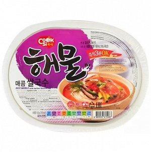 Рисовая вермишель вкус морепродуктов 92 г