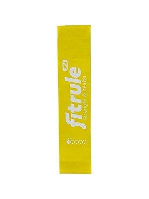 Фитнес-резинка для ног FitRule (Желтый 3кг)