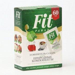Заменитель сахара на основе эритрита и стевии FitParad №7 - саше 1г. - 60шт