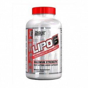 Жиросжигатель NUTREX Lipo-6 - 120 капсул