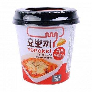 Рисовые клецки (топокки) быстрого приготовления с сырным соусом 120 г