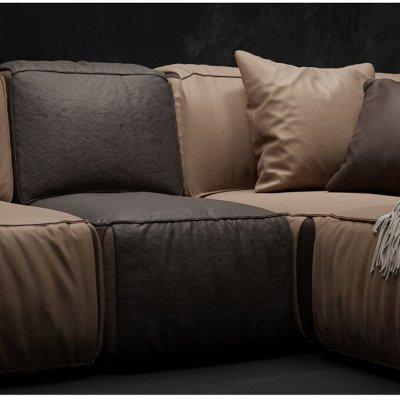 [Egida] Ткани мебельные (Купоны) / Экокожа <Обивка> 🎀  — Велюры FIVE, SIX, SEVEN комбинирующихся между собой — Ткани