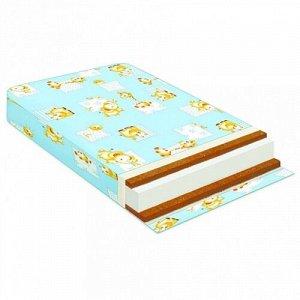 Матрас в кроватку кокос/холкон/кокос 120*60*12 см.