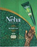Хна в конусе Neha 25 г коричневый цвет