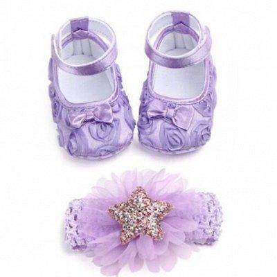 👧 Любимым зайкам 👦 Одежда и обувь для деток 👱♀️   — Комплект: повязка + пинетки — Пинетки