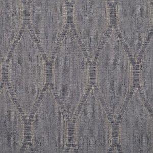 Штора портьерная Этель «Плавные ромбы» 135х270 см. цвет серый