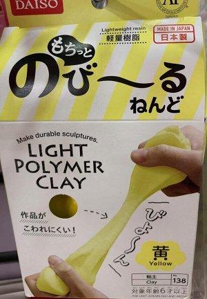 Глина Daiso Japan Soft Clay Глина для лепки