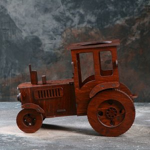 "Мини-бар деревянный ""Трактор"". 30х23 см"