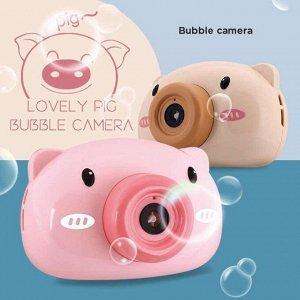"""Аппарат для создания мыльных пузырей Bubble Camera """"Свинка"""""""