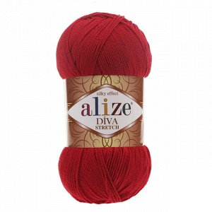 Пряжа для вязания Alize Diva Stretch Ализе Дива стрейч №106